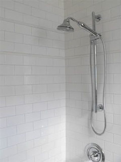 Which Grout Color For White Subway Tile In Shower