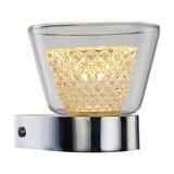 Contemporary Diamond Wall Light, Single