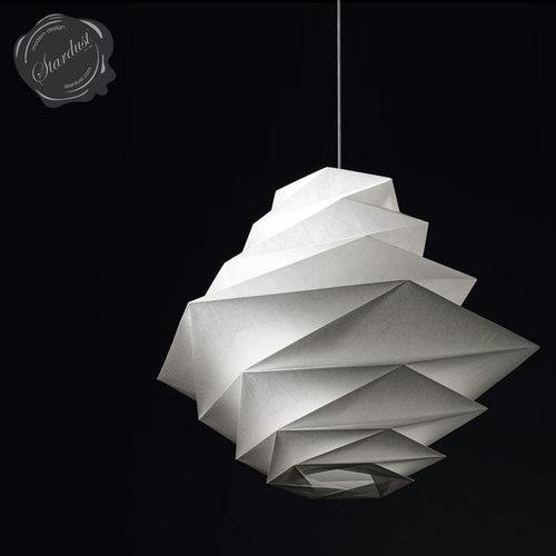 Artemide fukurou pendant lamp by issey miyake for Artemide issey miyake