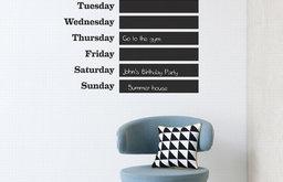 This Week WallSticker