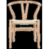 Wishbone Y Chair,Natural