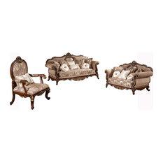 Winfrey Traditional 3-Piece Living Room Set