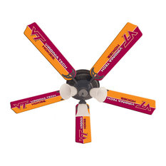Kids sports themed ceiling fans houzz wave 7 virginia tech hokies 52 ceiling fan ceiling fans mozeypictures Gallery