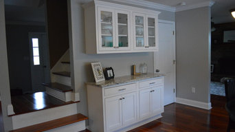 Inset White Cabinets