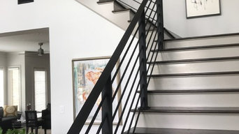 Jackson's Grant Hamlet Model Stairs/Railing (as seen in Indianapolis Monthly)