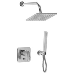 Contemporary Showerheads And Body Sprays by Parmir Water Systems, Inc.