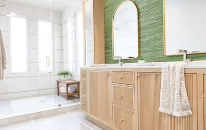 Bathroom of the Week: A Pro's Own Nature-Inspired Space