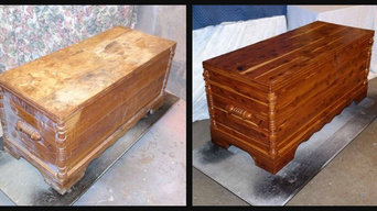 before and after cedar chest