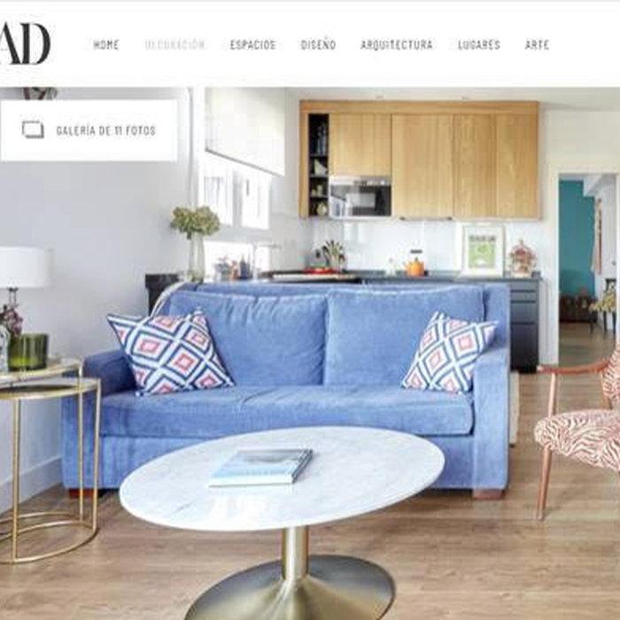 Apartamento Redondo en la revista AD