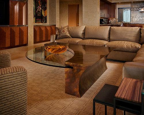 Modern Desert Classic Home - Coffee Tables