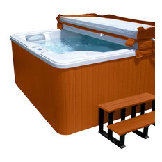 Hot Tub Cabinet Replacement Kit, Redwood