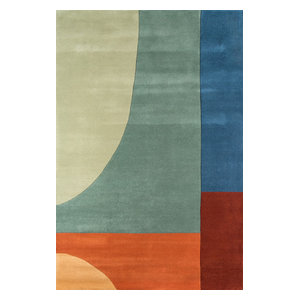 New Wave Hand-Tufted Rug, Multi, 2'x3'