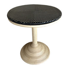 Outdoor Dining Table - French Bistro - Black/Beige