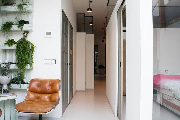 Portes Coulissantes Pour Un Intérieur Malin - Porte placard coulissante avec porte appartement interieur