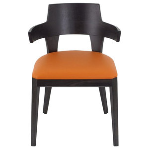 Chevaux Oak and Leather Chair