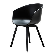 Hay Design - About A Chair AAC 22 Stuhl Schwarz/Schwarz Hay Design - Esszimmerstühle