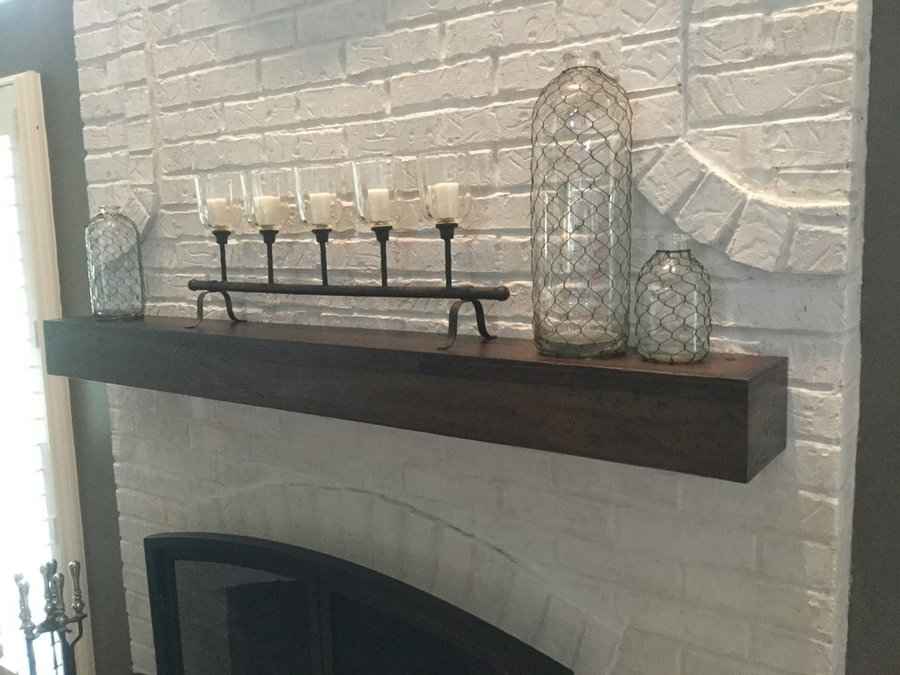 Fire place mantels & floating shelves