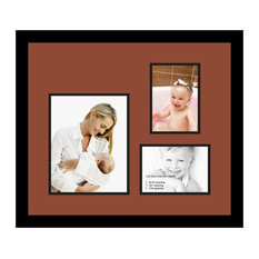 ArtToFrames Collage Photo Frame  with 1 - 8x10 and 2 - 5x7 Openings