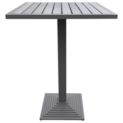 Transitional Outdoor Pub And Bistro Tables by Armen Living