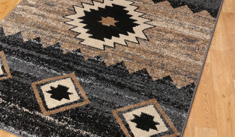 Navajo Tones Rugs in Anthricite, Beige and Black