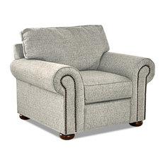 Avenue 405 Hartley Accent Chair, Azure