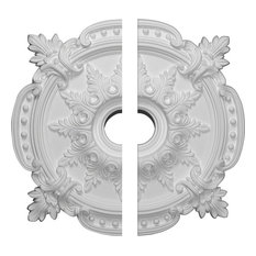 "28 3/8""OD x 3 3/4""ID x 1 5/8""P Benson Classic Ceiling Medallion, Two Piece"