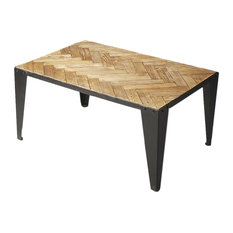 Butler Butler Cocktail Table Industrial Chic Moderate Coffee Tables