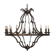 Seville Iron Chandelier Large by Kosas Home