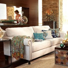 All From Pier 1 1st Couch Alton Ecru Seen At Comfy And Like Nailhead Edging Hint My Fave 2nd Abbie Taupe 3rd Carmen Leather Java