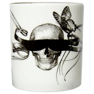Masked Skull Cutesy Candle