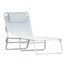 Fiam Amigo Limited Edition Big Sun Lounger, White