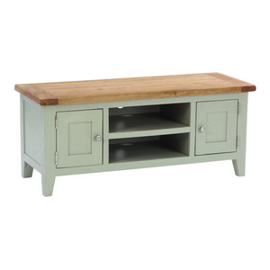 2-Door TV Unit, French Grey