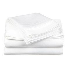 Egyptian Cotton Solid Sheet Set