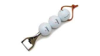 Fairway Bottle Opener With 3 Golf Balls