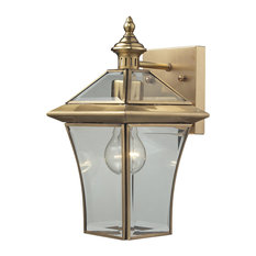 Riverdale 1-Light Small Outdoor Sco