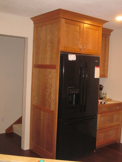 Show Your Full Depth Fridge Made To Look Built In