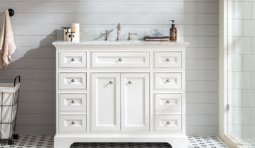 Up to 65% Off Single-Sink Vanities by Color