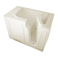 MediTub Walk-In 29 x 52 Right Drain Biscuit Whirlpool & Air Jetted Walk-In Tub