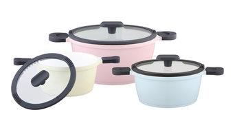 Happiness Pastel Pots, Set of 3