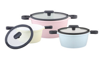 Happiness Pastel Pots, Set of 3