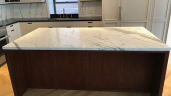 Kitchen Countertop Marble Polishing and Sealer