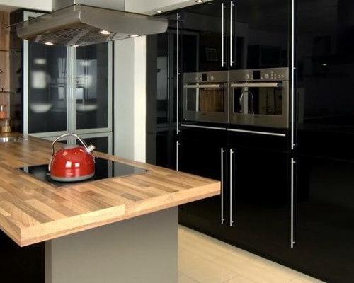 Black Gloss Kitchen - Home Improvement