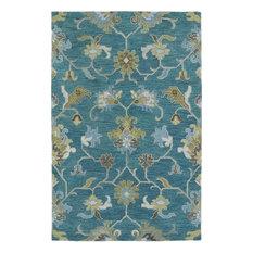 Kaleen Helena 3209-78 Turquoise Hand-Tufted Rug, 12'x15'