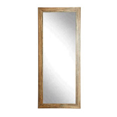 "BrandtWorks Blonde Barnwood Full Length Floor Mirror - 32"" x 71"""