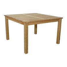 "Windsor 47"" Square Table Small Slats"