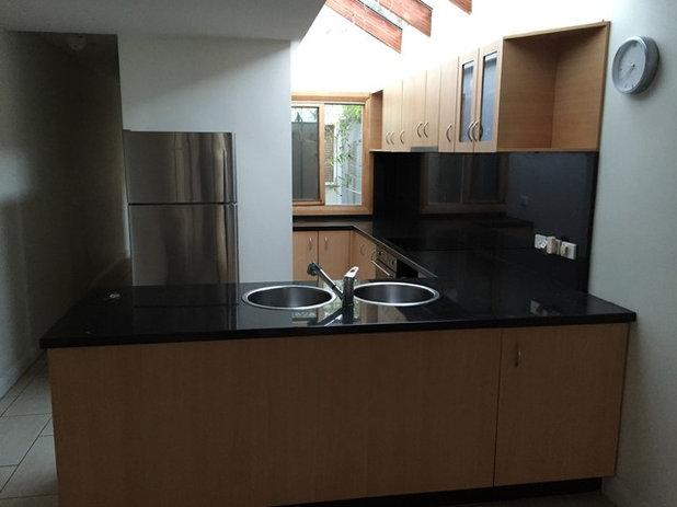 Dunkle Küche vorher nachher eine kleine dunkle küche wird hell und licht