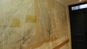 Rénovations / restaurations de faux marbres