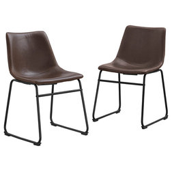 Industrial Dining Chairs by Walker Edison