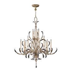 Fine Art Lamps Beveled Arcs Collection Chandelier