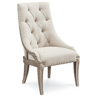 A.R.T. Home Furnishings Arch Salvage Reeves Host Chair, Parchment